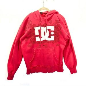 DC Pullover Hoodie With Kangaroo Pockets Sz S